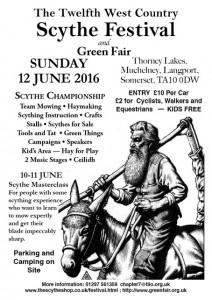 Scythe festival flier 2016