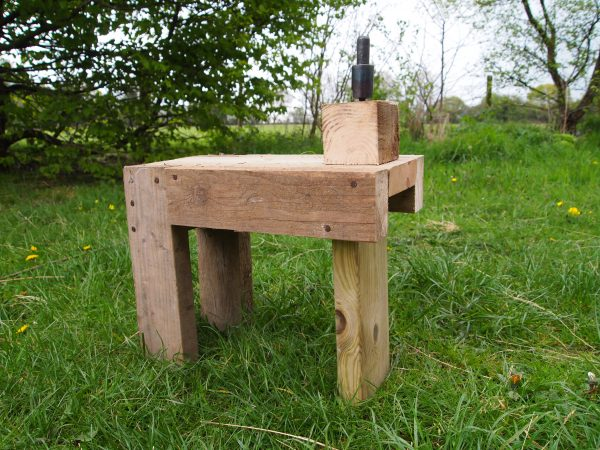 Peening Bench made from Offcuts