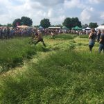 Scythe Festival competition mowing