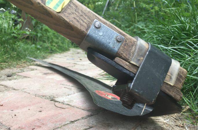 Scythe blade high lay