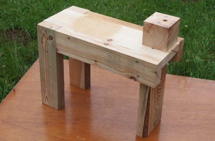 Peening Bench Right